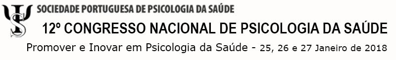 12º Congresso Nacional de Psicologia da Saúde